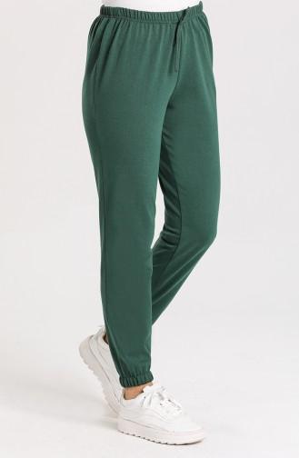 Jogger Eşofman Altı 1567-05 Zümrüt Yeşili