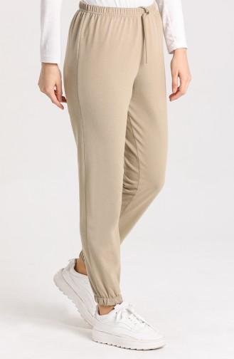 Pantalon Sport Beige 1567-07