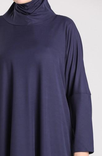 Robe de Prière Bleu Marine 0620-02