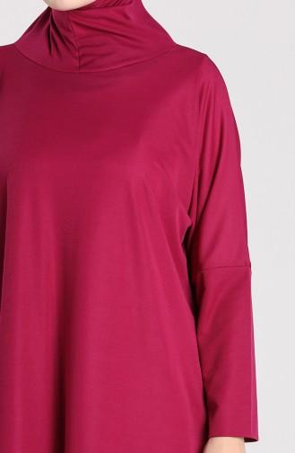 Robe de Prière Plum 0620-04