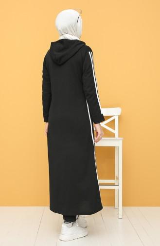 Black Abaya 10000-01