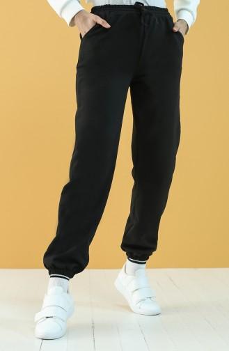 Cepli Jogger Eşofman Altı 2022-01 Siyah