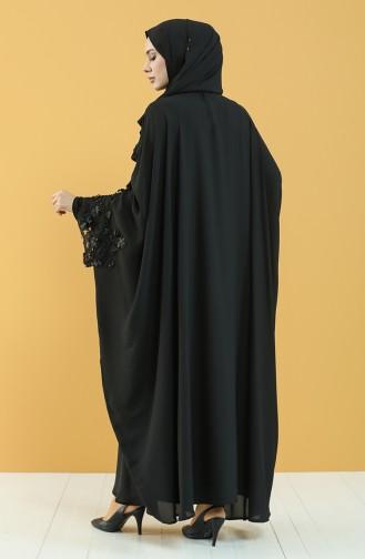 Black Abaya 8000-01