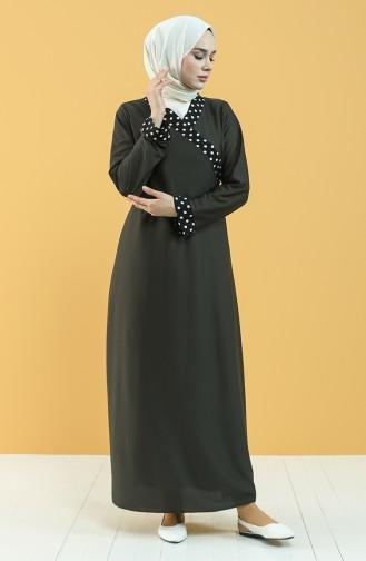 Dark Green Praying Dress 4564-04