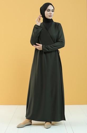 Khaki Praying Dress 4565-03