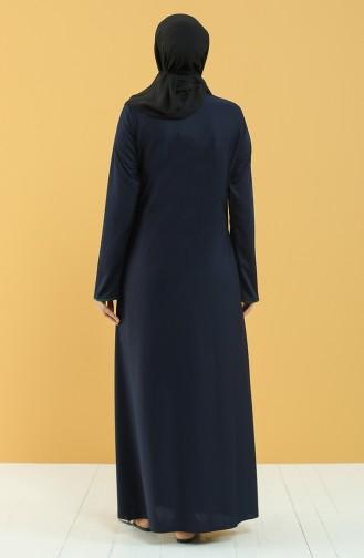 Navy Blue Praying Dress 4565-05