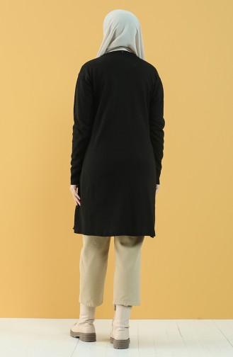 Knitwear Tunic 55223-11 Black 55223-11