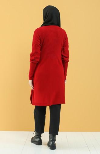 Knitwear Tunic 55367-04 Red 55367-04