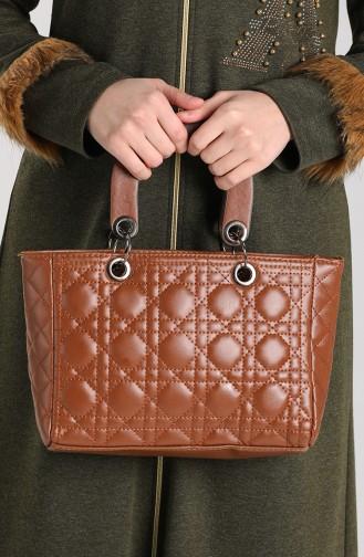 Brown Shoulder Bags 10693KA