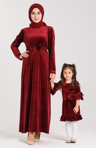 Weinrot Kinderbekleidung 2026-01