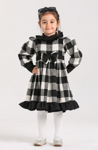 فساتين الاطفال أسود 2034-01