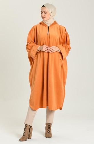 Orange Poncho 9037-09