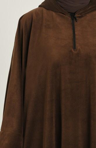 Ponchos Couleur Brun 9037-10