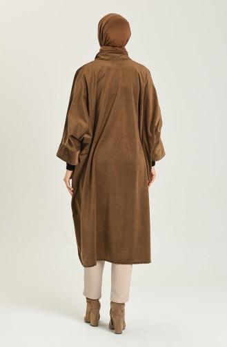 Dark Brown Poncho 9038-11