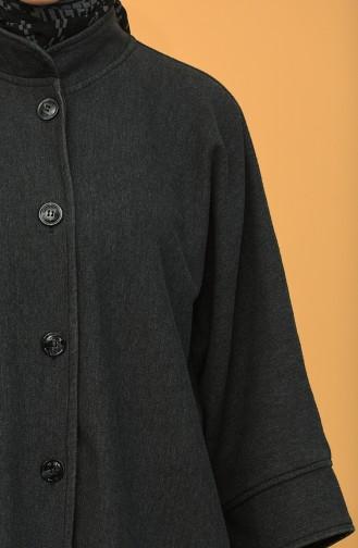 Light Black Poncho 9040-01