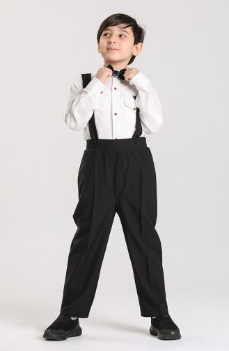 Pantalon Noir 2038-01