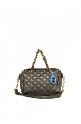 Silver Gray Shoulder Bags 8682166065202