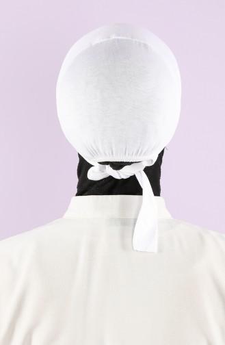 White Onderkap 0301-01
