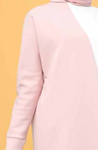 Scuba Fabric Garni Tunic Trousers Double Suit 21014-02 Powder White 21014-02