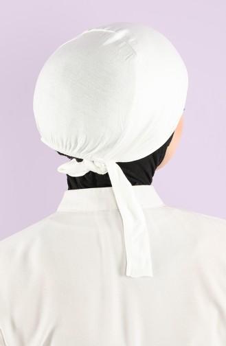 Lycra Ruschtfestes Bonnet 0303-01 Creme 0303-01