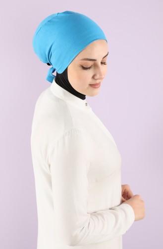 Bonnet Coton 0112-01 Bleu 0112-01