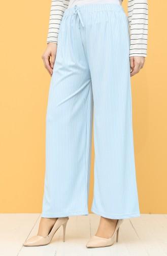 Pantalon Bleu Bébé 8220-02