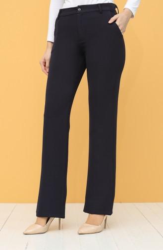 Pantalon Bleu Marine 6493-06