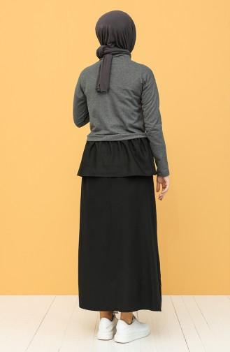 Black Blouse 3239-12