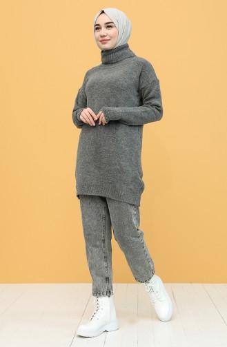 Dark Gray Sweater 4585-07