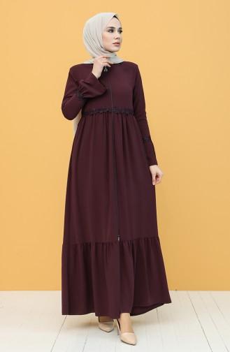 Damson Abaya 5036-05
