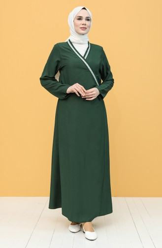 Emerald Praying Dress 1001C-01