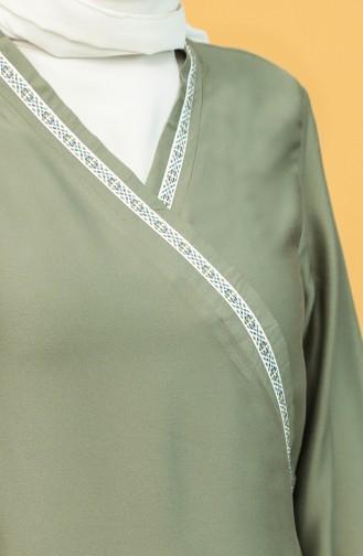 Khaki Praying Dress 1001C-03