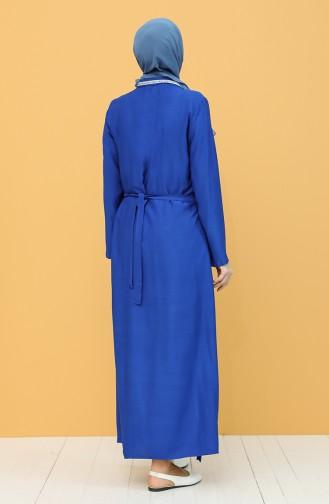 Saxon blue Praying Dress 1001C-04