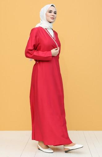 Fuchsia Praying Dress 1001C-05