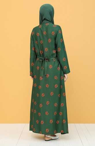 Robe de Prière Khaki 1002A-02