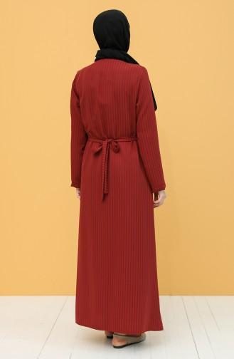Claret red Praying Dress 1003-01