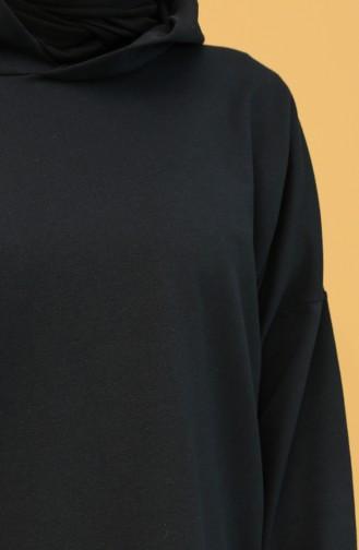 İkili Eşofman Takım 21009-01 Siyah