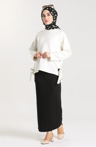 Jupe Noir 4002-01