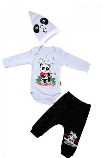 Blau Kinder und Baby-Pyjamas 12800