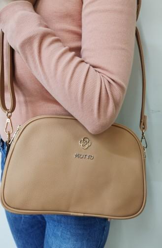Light Tobacco Brown Shoulder Bag 1228123-231