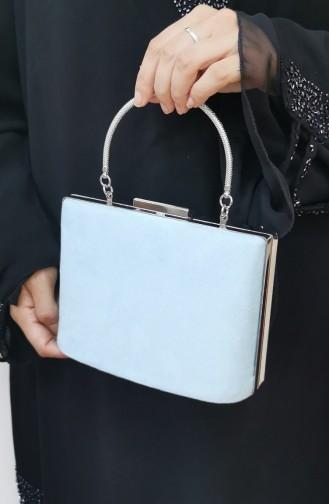 Blau Portfolio Handtasche 288108-216
