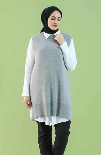 Knitwear Sweater 4279-03 Gray 4279-03