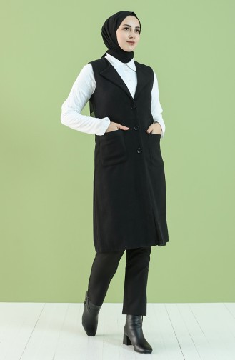 Black Gilet 2136-01