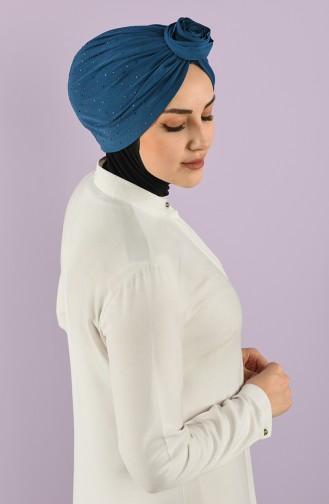Bonnet Bleu Pétrole 9017-12