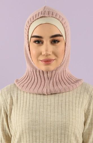 Triko Örme Pratik Eşarp 12022-03 Pudra 12022-03