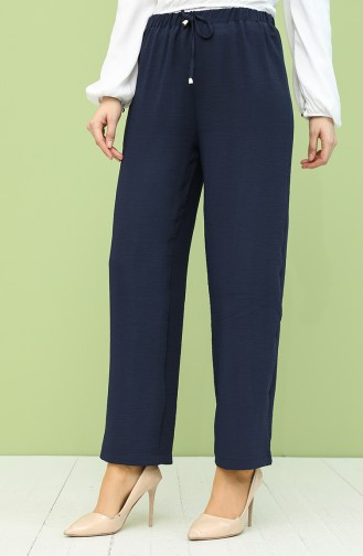 Pantalon Bleu Marine 2014-07