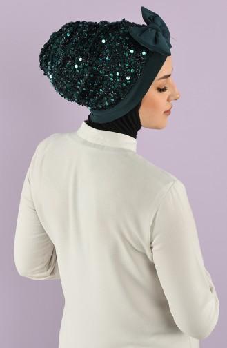 Smaragdgrün Bonnet 9020-09