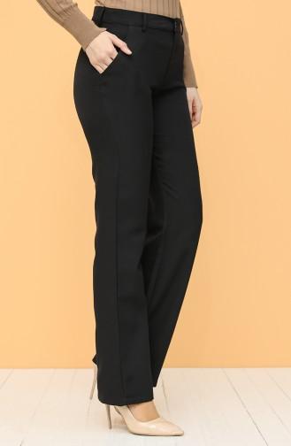 Pantalon Noir 6493-04