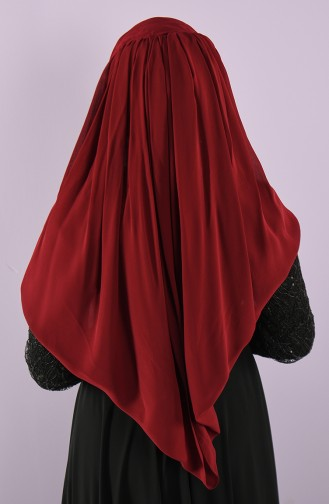 Claret Red Ready to Wear Turban 005-04