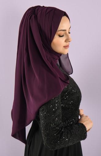 Purple Ready to Wear Turban 005-05